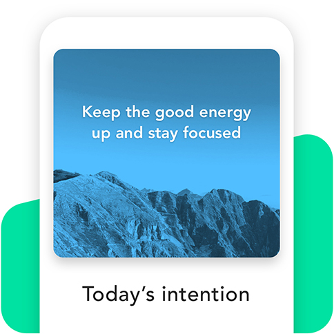 Today's intention