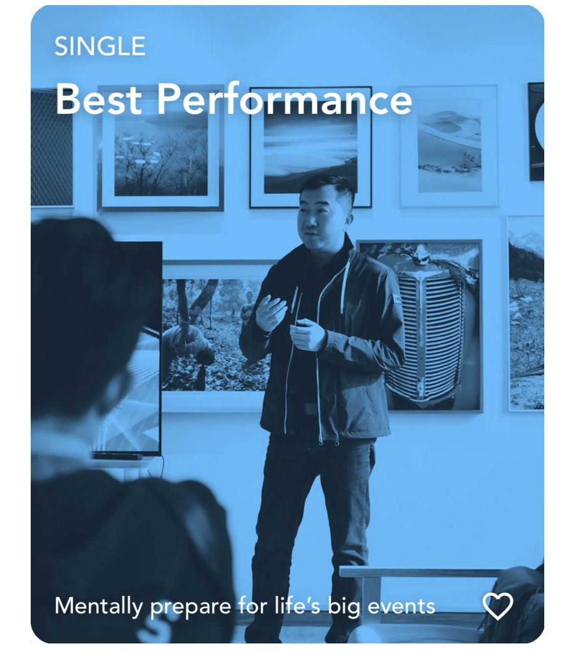 Best Performance Visualization