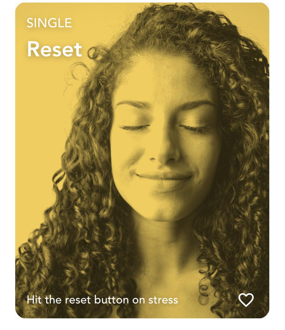 Reset Visualization Techniques