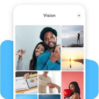 Vision Board also known as a Dream Board